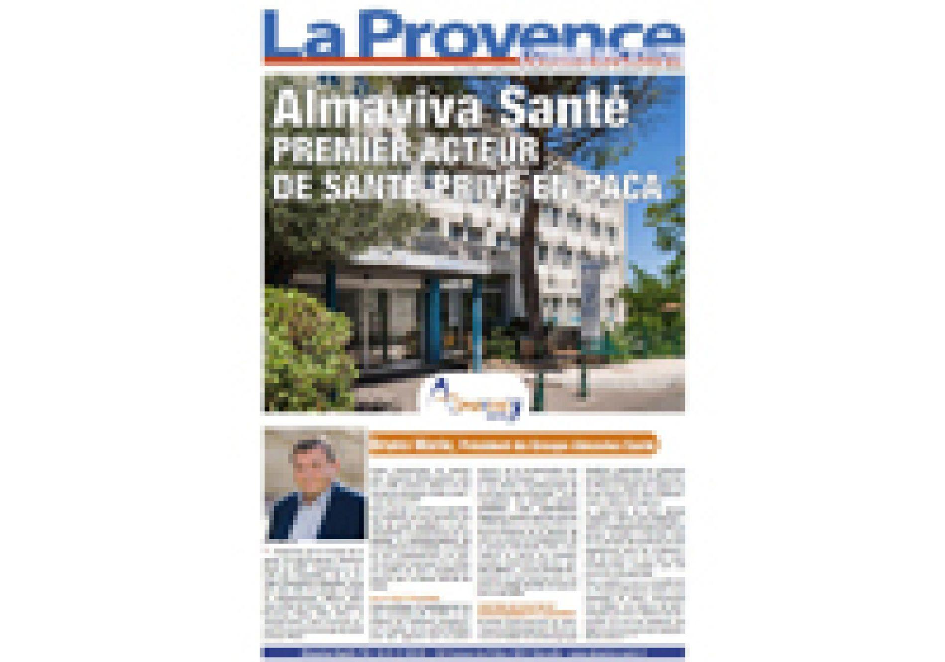 Almaviva Santé,La Provence